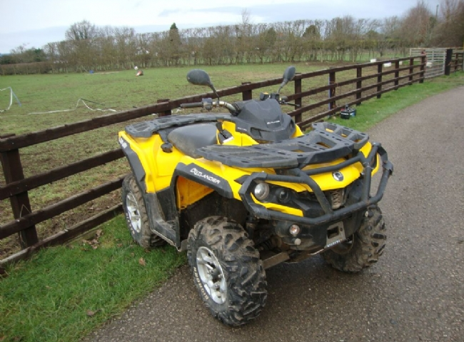Can-Am CAN-AM OUTLANDER DPS 650