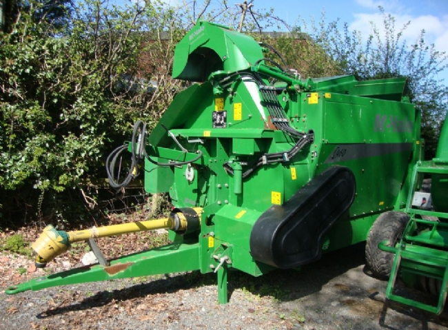 McHale C460 Straw Blower & Bale Feeder - SOLD