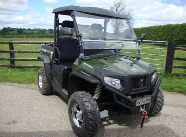 HISUN Electric-powered UTV