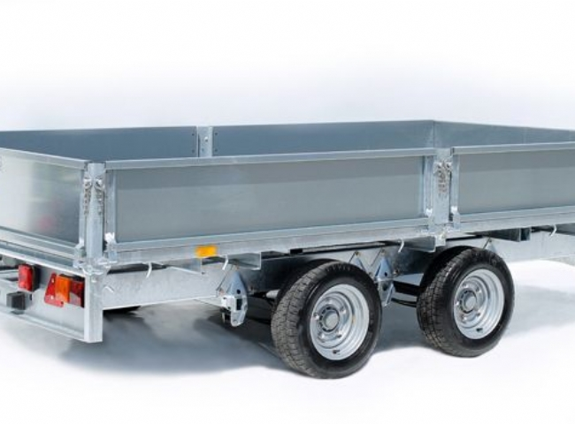 NEW IFOR WILLIAMS 14' FLATBED TRAILER
